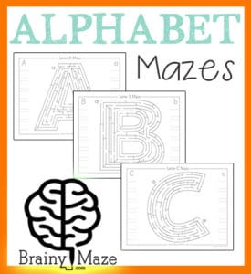 AlphabetMazes