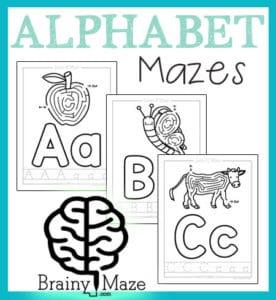 AlphabetPictureMazes