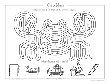 Ocean Mazes Free From Brainy Maze