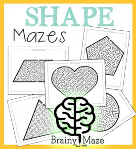 ShapeMazes