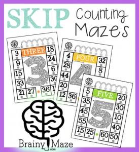 SkipCountMazes